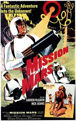 Mission Mars, Darren Mcgavin, 1968 Poster by Everett