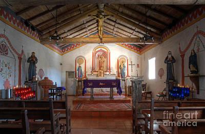 Mission San Antonio De Padua 3 Poster by Bob Christopher