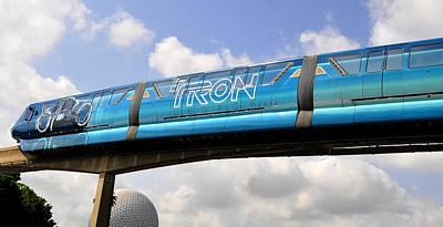 Mono Tron Poster by David Lee Thompson