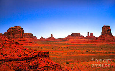 Monument Valley Poster by Robert Bales