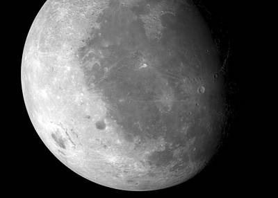 Moon's Surface Poster by Detlev Van Ravenswaay