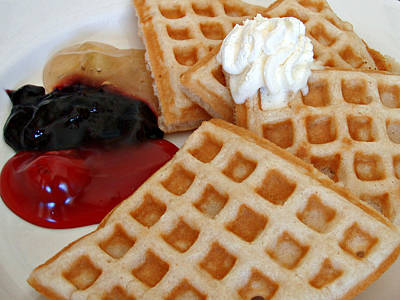 Morning Waffles Poster by Kimberly Perry