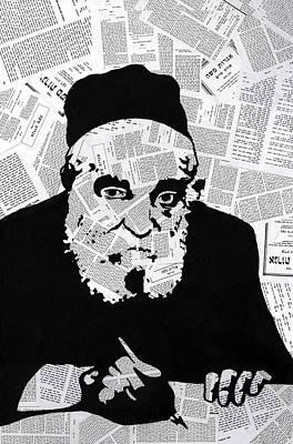 Moshe Feinstein Poster by Anshie Kagan
