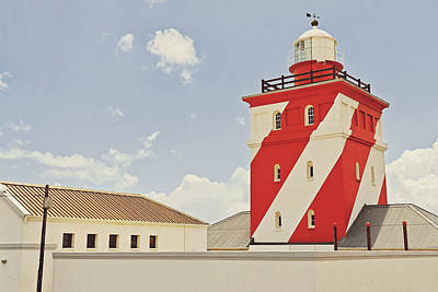 Mouille Point Lighthouse Poster by Benjamin Matthijs