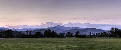 Mountain Sunset - North Carolina Landscape Poster by Rob Travis