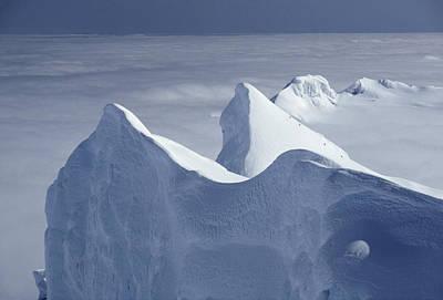 Mountaineers Ascend Gremlins Cap Poster by Gordon Wiltsie