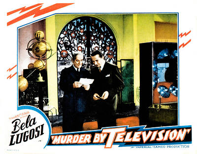 Murder By Television, Bela Lugosi Poster by Everett