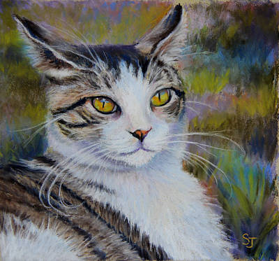 My Beautiful Cat Poster by Susan Jenkins