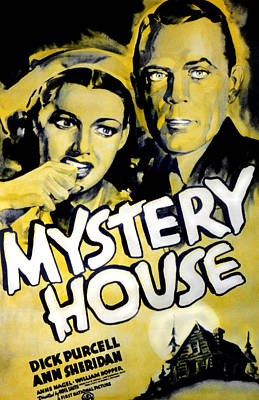 Mystery House, From Left Ann Sheridan Poster by Everett