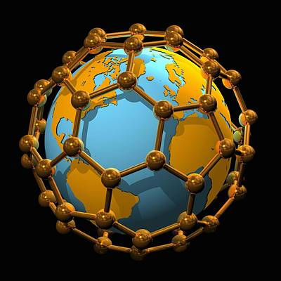 Nanotechnology, Conceptual Artwork Poster by Laguna Design