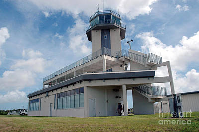 Nasa Air Traffic Control Tower Poster by Nasa
