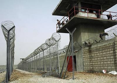 Nasiriyah Prison Under Construction Poster by Everett