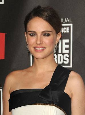 Natalie Portman At Arrivals For 16th Poster by Everett