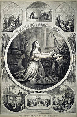 National Thanksgiving Poster by Granger
