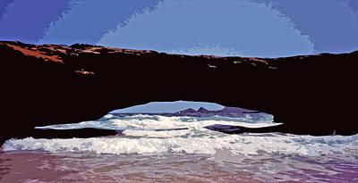 Natural Stone Bridge - Aruba Poster by Juergen Weiss