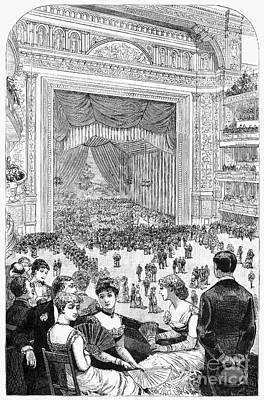 New York Charity Ball, 1884 Poster by Granger