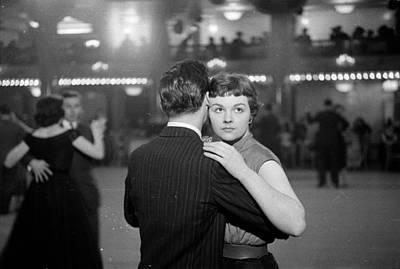 Newlywed Dance Poster by Kurt Hutton