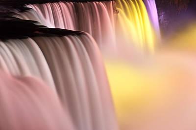 Niagara Falls Illuminations Number 2 Poster by Steve Gadomski