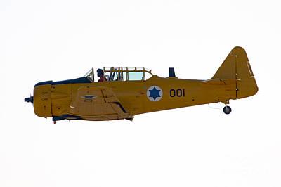 North American Aviation T-6 Texan  Poster by Nir Ben-Yosef