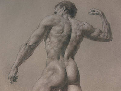 Nude - 8 A Poster by Valeriy Mavlo