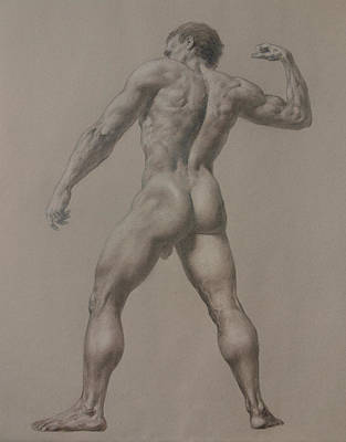 Nude-8 Poster by Valeriy Mavlo