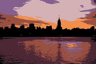 Nyc Morning Color 6 Poster by Scott Kelley
