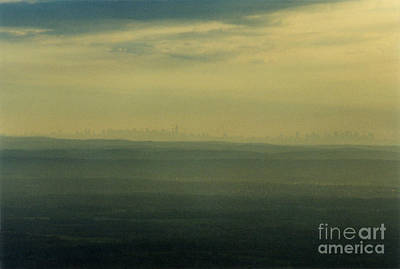 Nyc Skyline Poster by Thomas Luca