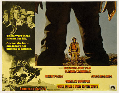 Once Upon A Time In The West, Charles Poster by Everett
