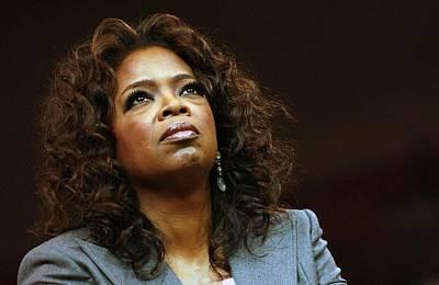Oprah Winfrey In Attendance For Barack Poster by Everett