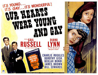 Our Hearts Were Young And Gay, Diana Poster by Everett