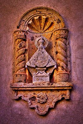 Our Lady Of Good Success At The Chapel In Tlaquepaque Poster by David Patterson