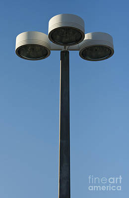Outdoor Lamp Post Poster by Blink Images