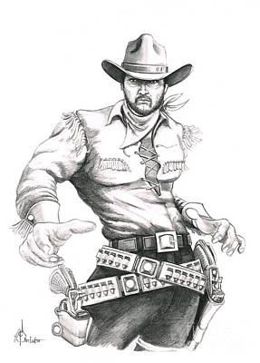 Outlaw Poster by Murphy Elliott