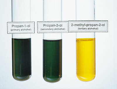 Oxidations Of Alcohols Poster by Andrew Lambert Photography