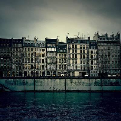 Parisian Architecture... Poster by Louise LeGresley