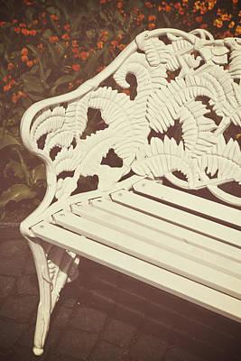 Park Bench Poster by Joana Kruse