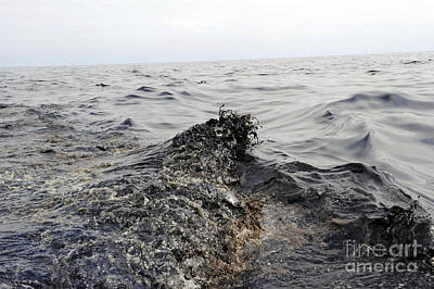 Part Of An Oil Slick In The Gulf Poster by Stocktrek Images