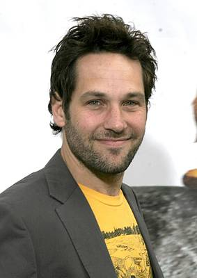 Paul Rudd At Arrivals For Evan Almighty Poster by Everett