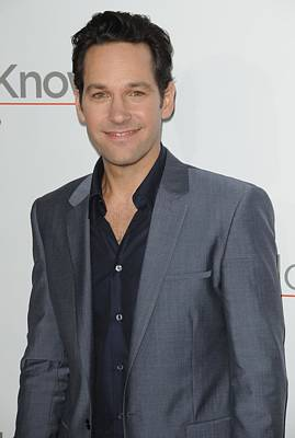 Paul Rudd At Arrivals For How Do You Poster by Everett