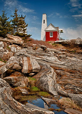 Pemaquid Point 2 Poster by Fred LeBlanc