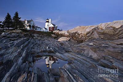 Pemaquid Point Lighthouse - D002139 Poster by Daniel Dempster