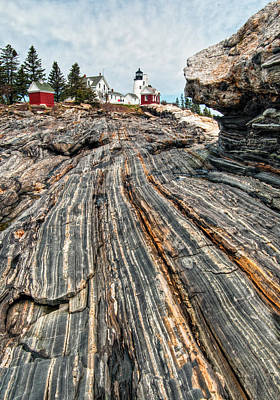 Pemaquid Point Lt. Poster by Fred LeBlanc