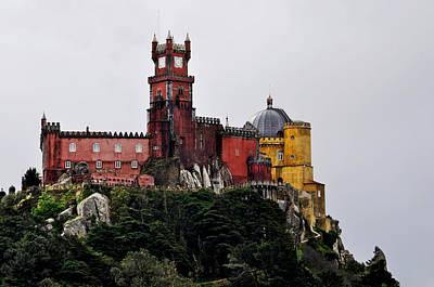 Pena Palace - Sintra Poster by Armando Carlos Ferreira Palhau