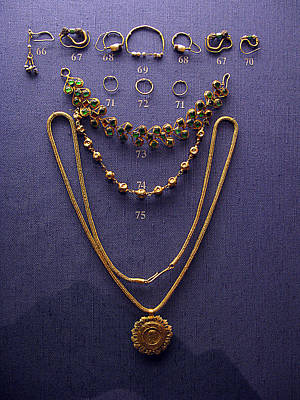 Pendant With Bracelet Poster by Andonis Katanos