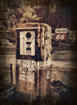 Phillips 66 Poster by Kathy Jennings