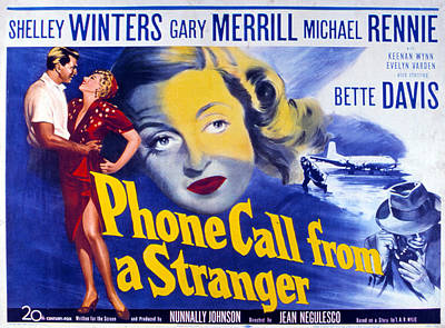Phone Call From A Stranger, Bette Poster by Everett