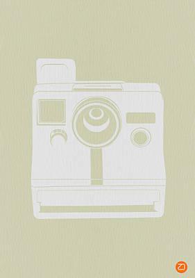 Polaroid Camera 3 Poster by Naxart Studio