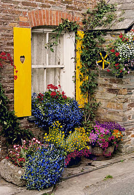 Park Farm Cottages Poster by John Galbo