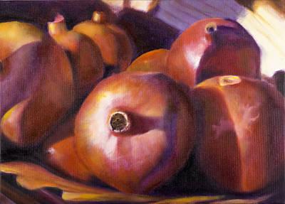 Pomegranates Poster by Tzvi Abraham