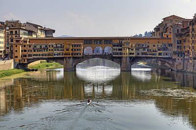 Ponte Vecchio Poster by Joana Kruse